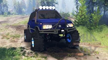 Suzuki Grand Vitara v4.0 für Spin Tires