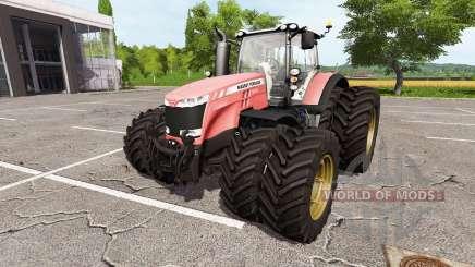 Massey Ferguson 8727 v1.1 pour Farming Simulator 2017