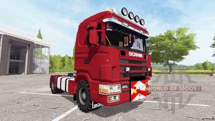 Scania 124L 440 agrar pour Farming Simulator 2017