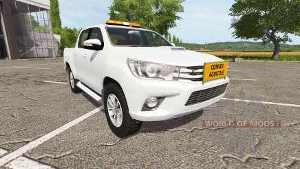 Toyota Hilux convoi agricole pour Farming Simulator 2017