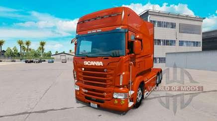 Scania R730 long v1.5.2 pour American Truck Simulator