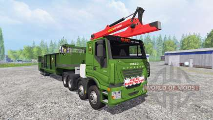 Iveco Stralis [wood chippers] v1.2 pour Farming Simulator 2015