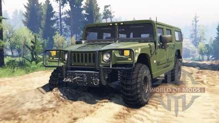Hummer H1 v2.0 für Spin Tires