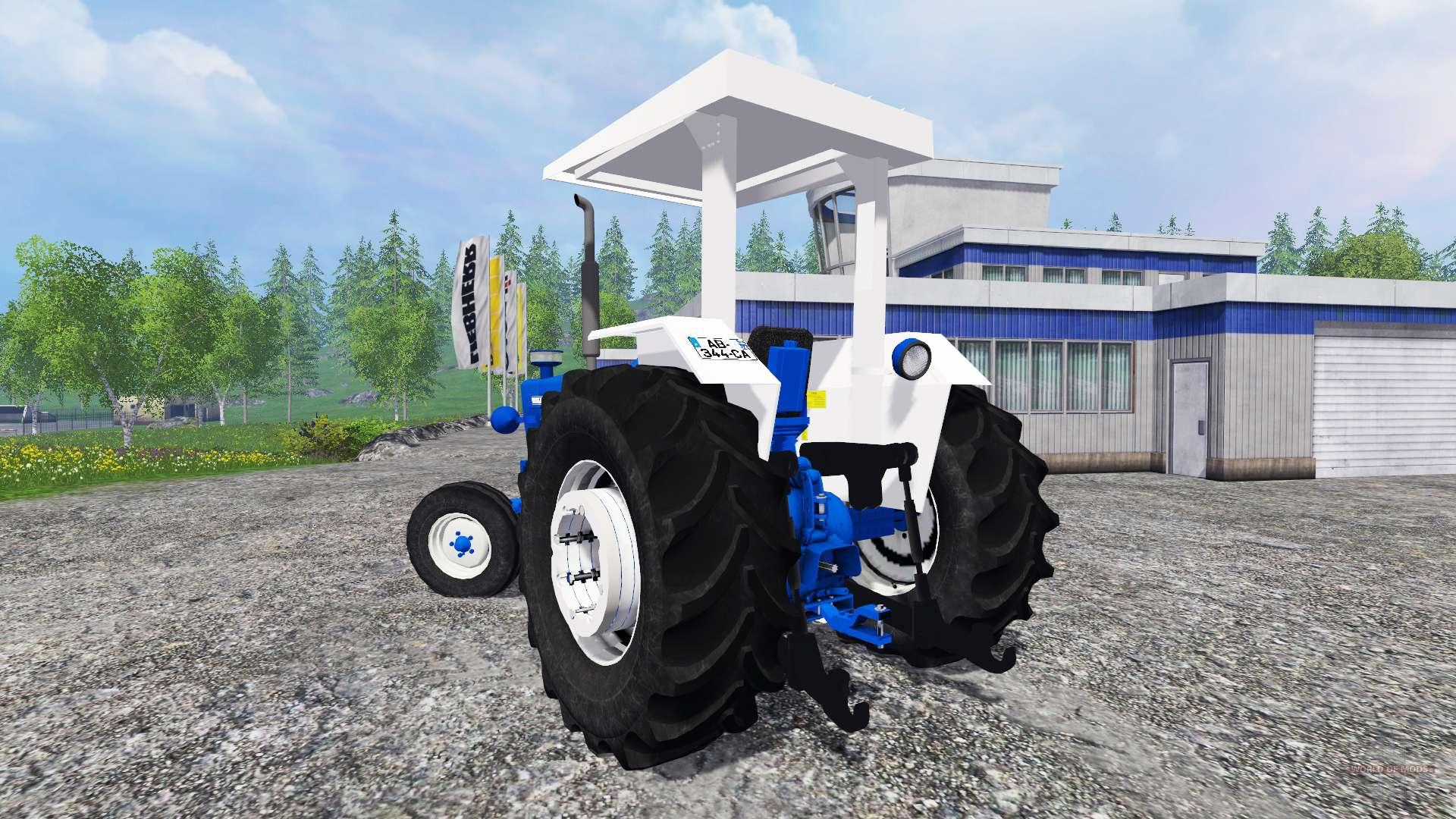 ford 4600 v1 1 pour farming simulator 2015. Black Bedroom Furniture Sets. Home Design Ideas