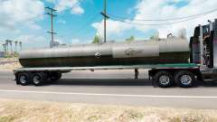 Haut auf Quaker State semi-tank für American Truck Simulator
