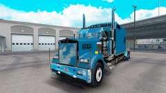 Kenworth W900B Long v1.3 pour American Truck Simulator