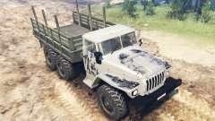 Le véhicule Ural-4320 pour Spin Tires