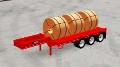 Low sweep Rogers FG65L mit waren für American Truck Simulator