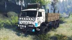 KamAZ-43114 v6.0 pour Spin Tires