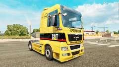 Die Haut der Raupe-Traktor, MANN für Euro Truck Simulator 2