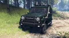 UAZ-315195 chasseur v3.0 pour Spin Tires