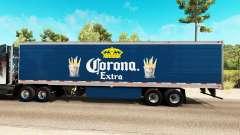 Corona de la peau Supplémentaires sur le reefer remorque pour American Truck Simulator