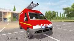 Peugeot Boxer (244) VTU pour Farming Simulator 2017