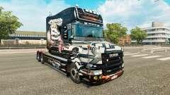 Haut NFS Most Wanted für LKW Scania T für Euro Truck Simulator 2