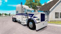 Bowers LKW-skin für den truck-Peterbilt 389 für American Truck Simulator