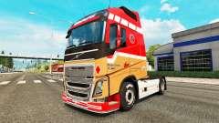 Ronny Ceusters de la peau pour Volvo camion pour Euro Truck Simulator 2