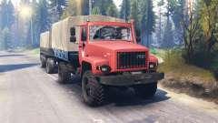 GAZ-3308 Sadko v2.0 pour Spin Tires