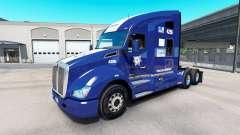Haut Policia Federal auf Traktor Kenworth T680 für American Truck Simulator