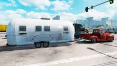 Airstream-trailer im traffic für American Truck Simulator