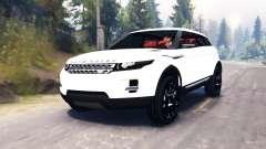 Range Rover Evoque LRX pour Spin Tires