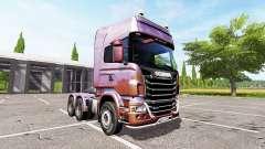 Scania R730 v2.0 für Farming Simulator 2017