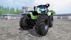Deutz-Fahr Agrotron X 720 black wheels