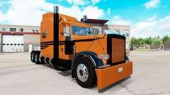 Coppertone de la peau pour le camion Peterbilt 389 pour American Truck Simulator