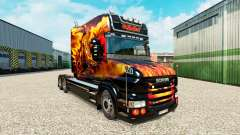 Haut Drachen für LKW Scania T für Euro Truck Simulator 2