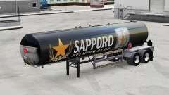 La peau de Sapporo pour les semi-réservoir pour American Truck Simulator