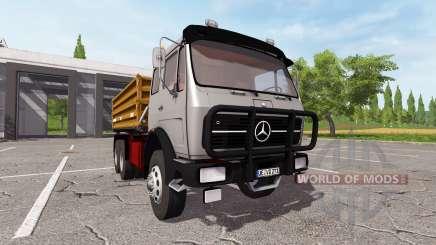 Mercedes-Benz NG 1632 kipper pour Farming Simulator 2017