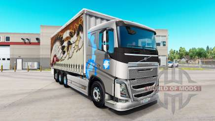 Volvo FH16 tandem für American Truck Simulator