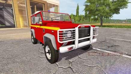 Land Rover Defender 90 VLTT pour Farming Simulator 2017