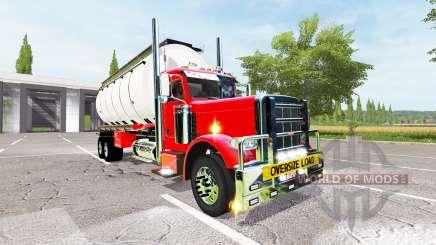 Peterbilt 388 water tanker für Farming Simulator 2017