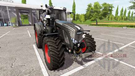 Fendt 936 Vario black beauty v1.1.1 pour Farming Simulator 2017