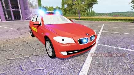 BMW 530d Touring (F11) Feuerwehr pour Farming Simulator 2017