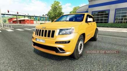 Jeep Grand Cherokee SRT8 v1.1 für Euro Truck Simulator 2
