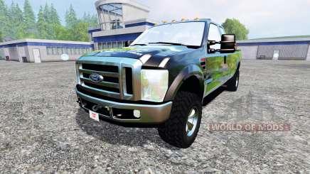 Ford F-350 XLT Super Duty pour Farming Simulator 2015