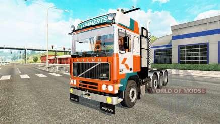 Volvo F10 8x4 heavy pour Euro Truck Simulator 2