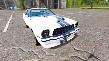 Ford Mustang II King Cobra 1978 pour Farming Simulator 2017