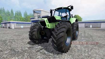 Deutz-Fahr Agrotron X 720 black wheels für Farming Simulator 2015