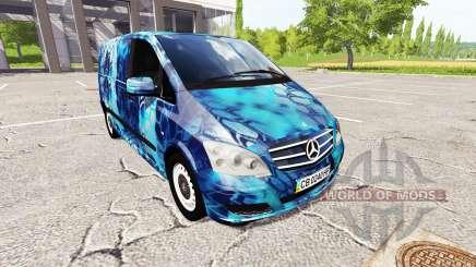 Mercedes-Benz Viano Kryptek pour Farming Simulator 2017
