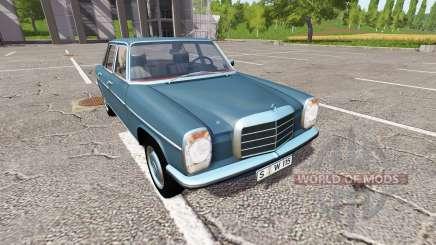 Mercedes-Benz 200D (W115) 1973 pour Farming Simulator 2017