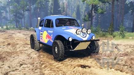Volkswagen Beetle Baja pour Spin Tires