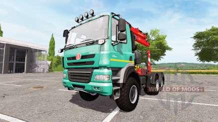 Tatra Phoenix T158 forest pour Farming Simulator 2017