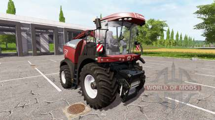 Krone BiG X 580 tuning edition v1.1 für Farming Simulator 2017