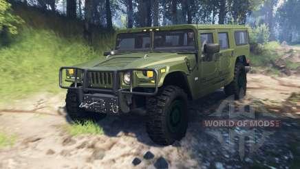 Hummer H1 v3.0 für Spin Tires