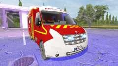 Renault Master Ambulance für Farming Simulator 2017