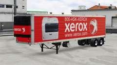 Peaux marques de l'électronique sur le trailer v2.0 pour American Truck Simulator