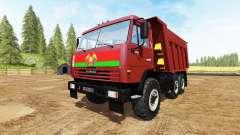 KAMAZ-65115 v3.0 pour Farming Simulator 2017