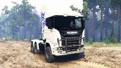 Scania R730 6x6 pour Spin Tires